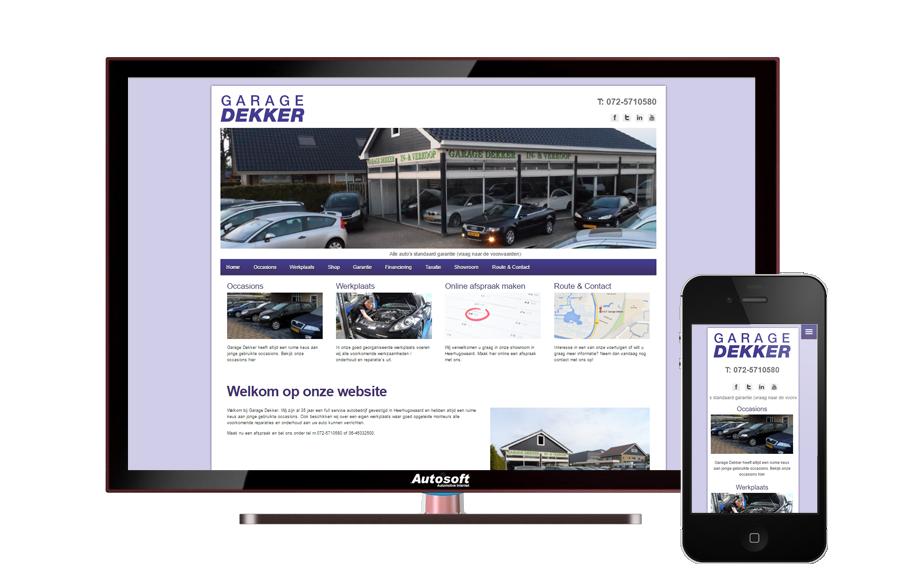 Garage Dekker Heerhugowaard : Garage dekker autosoft