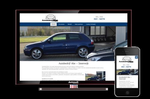 Autobedrijf Abe - AutoWebsite Basic Explorer