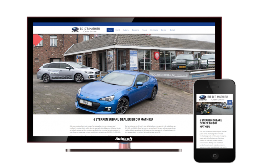 Bij D'r Mathieu - AutoWebsite Premium Explorer