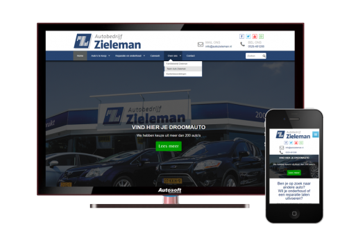 Autobedrijf Zieleman - AutoWebsite Custom Explorer