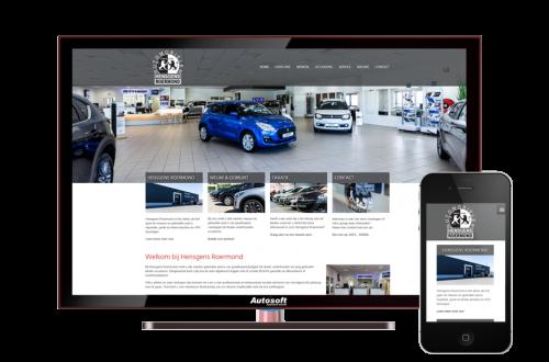 Hensgens Roermond - AutoWebsite Premium Vanquish