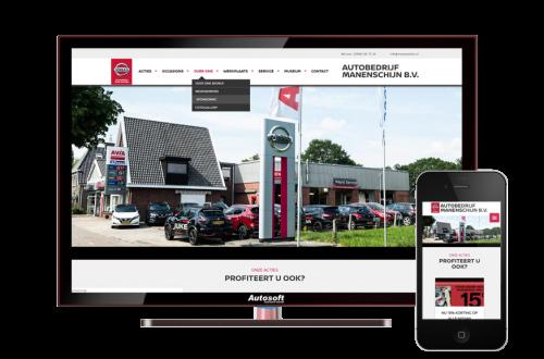 Autobedrijf Manenschijn - AutoWebsite Custom Explorer
