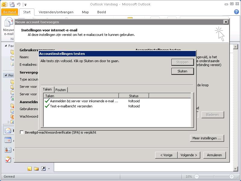 Outlook 2010 - instellen-7