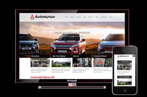 Auto Nijman BV - AutoWebsite Premium Vanquish
