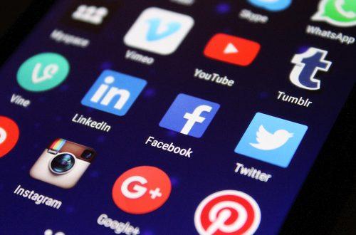 Actief op sociale media