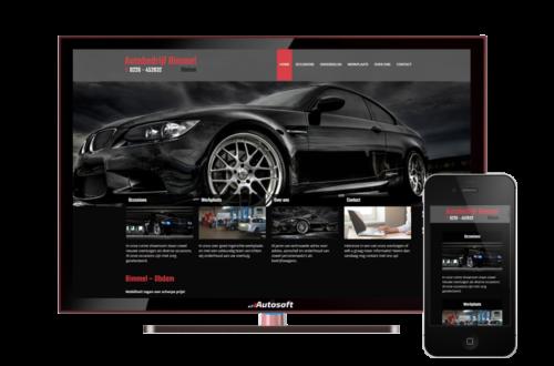 Bimmel - AutoWebsite Pro Vanquish