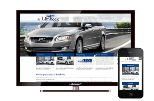 De Limbeek - AutoWebsite Business Vanquish