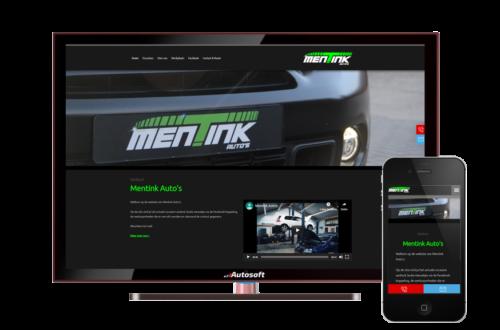 Mentink Auto's - AutoWebsite Basic Matador