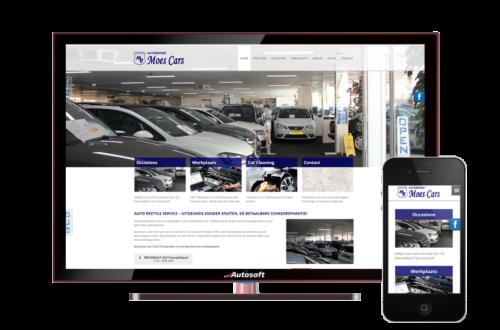 Moes Cars - AutoWebsite Pro Vanquish