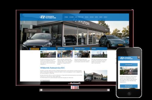 Wikkerink Autoservice - AutoWebsite Premium Vanquish
