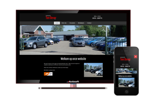 Autobedrijf ten Oever - AutoWebsite Basic Explore