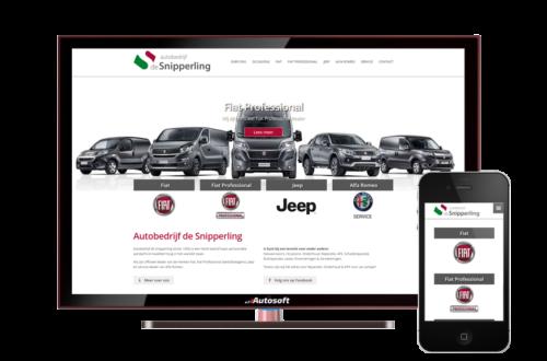 Autobedrijf de Snipperling - AutoWebsite Premium Vanquish