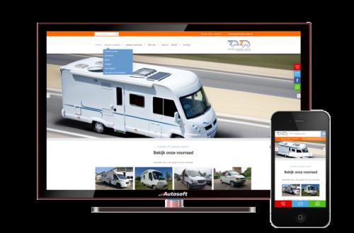 Camper & Caravan Online - AutoWebsite Pro Matador