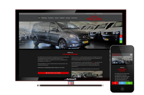 Auto Holland - AutoWebsite Business Matador