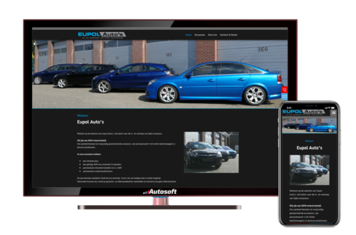 Eupol Auto's - AutoWebsite Basic Matador