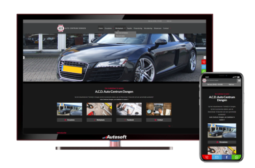 Auto Centrum Dongen - AutoWebsite Pro Matador