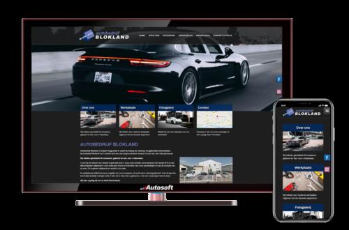 Autobedrijf Blokland - AutoWebsite Business Vanquish