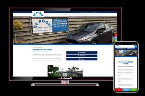De Poort Auto's - AutoWebsite Business Matador
