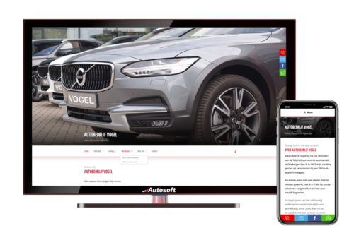 Autobedrijf Vogel - AutoWebsite Pro Modena