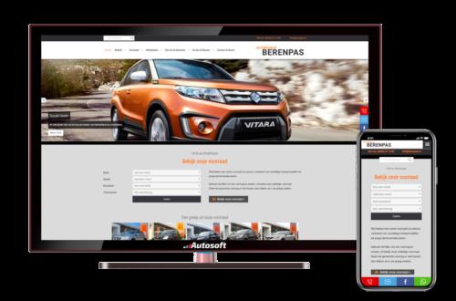 Berenpas - AutoWebsite Premium Matador