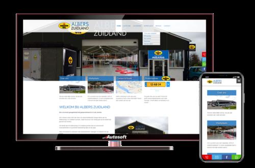 Albers Zuidland - AutoWebsite Kroon Oil Vanquish