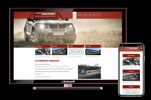Autobedrijf Goedhart - AutoWebsite Business Vanquish