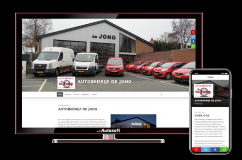 De Jong - AutoWebsite Basic Modena