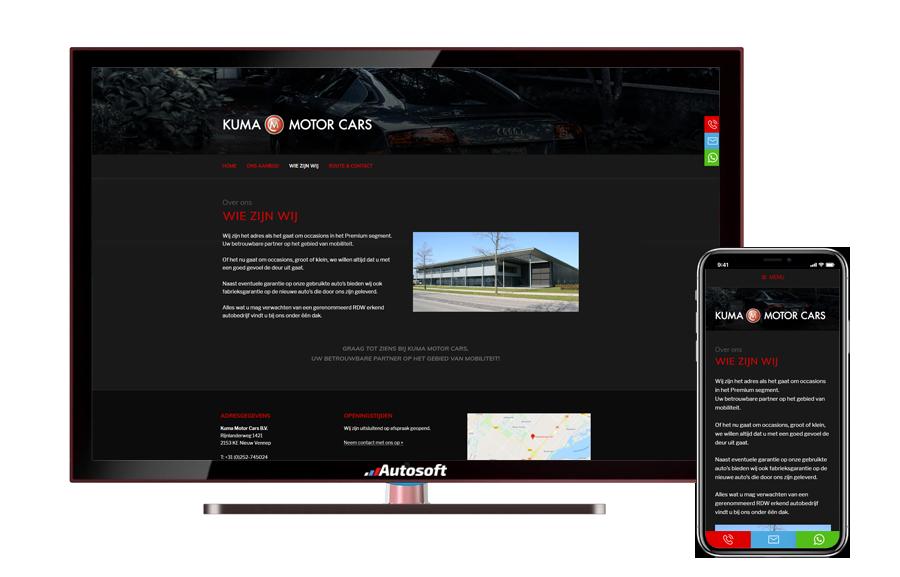 Kuma Motor Cars - AutoWebsite Basic Modena