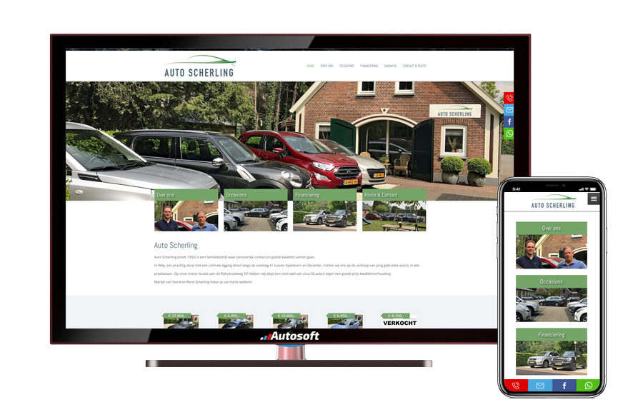 Auto Scherling - AutoWebsite Business Vanquish