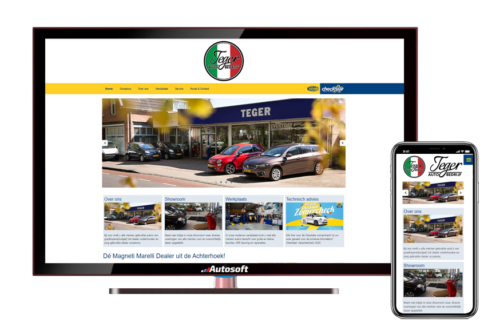 Autobedrijf Teger - AutoWebsite Checkstar