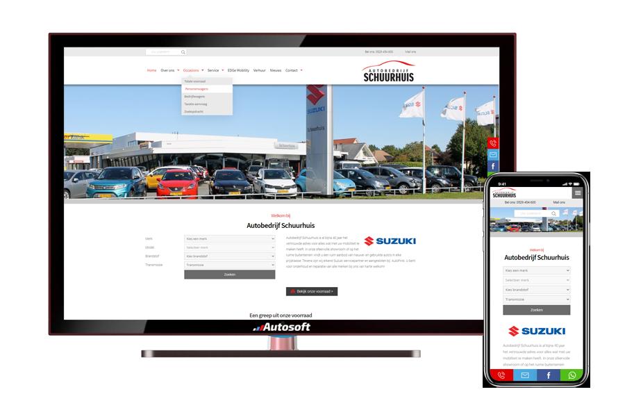 Schuurhuis - AutoWebsite Premium Matador