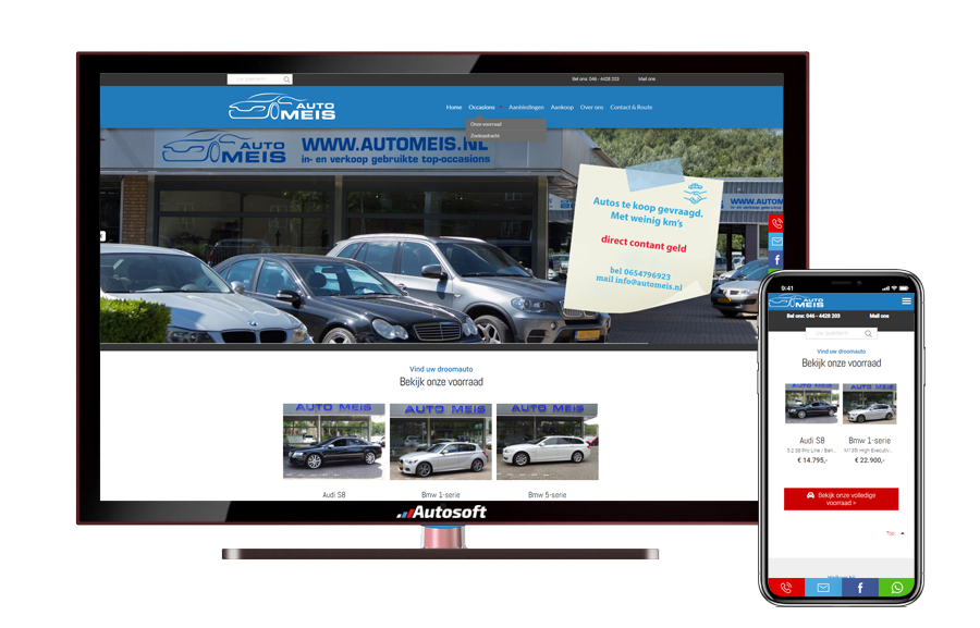 Auto Meis - AutoWebsite Pro Matador