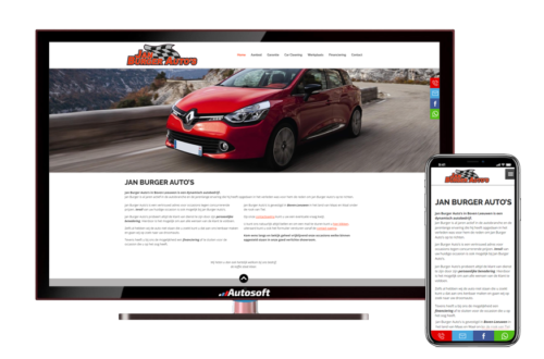 Jan Burger Auto's - AutoWebsite Business Vanquish