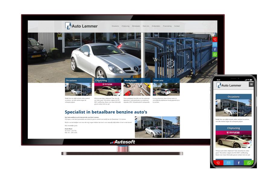 Auto Lemmer - AutoWebsite Business Vanquish