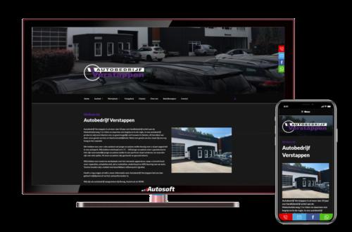 Verstappen - AutoWebsite Pro Modena