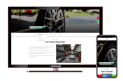 Auto Centrale Wageningen - AutoWebsite Business Modena
