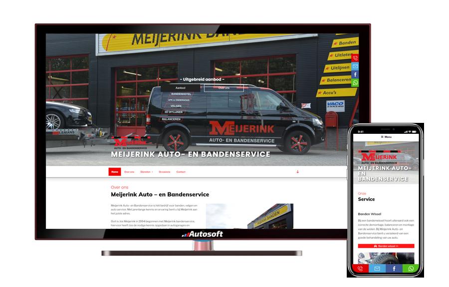 Meijerink - AutoWebsite Pro Modena