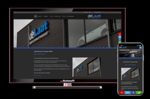de Laat Autobedrijf - AutoWebsite Business Modena