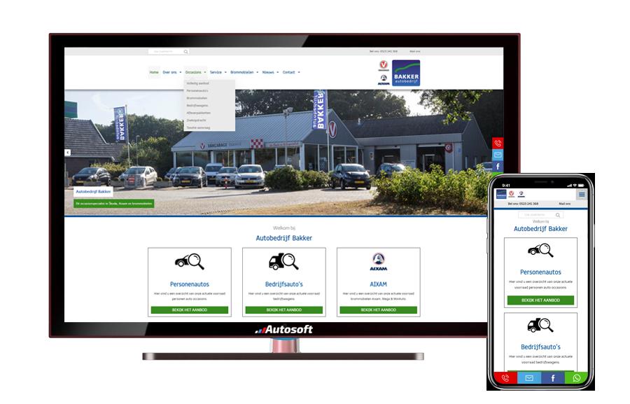 Bakker Sibculo - AutoWebsite Premium Modena