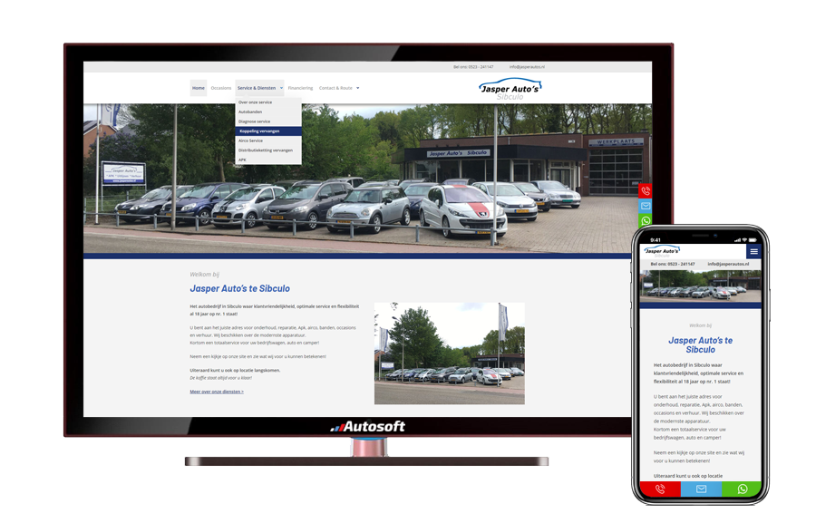 Jasper Auto's - AutoWebsite Business Matador