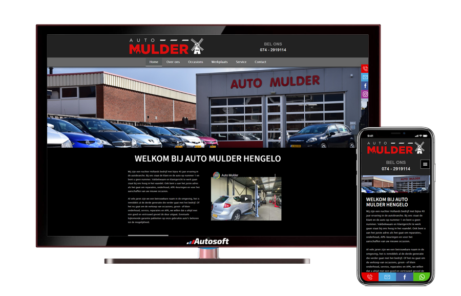 Auto Mulder - AutoWebsite Explorer Business