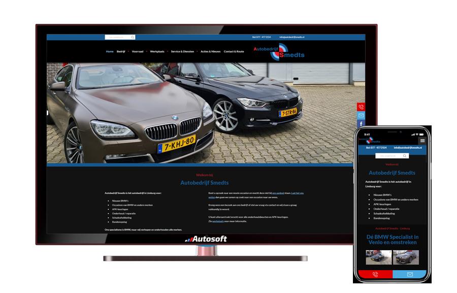 Smedts - AutoWebsite Matador Pro