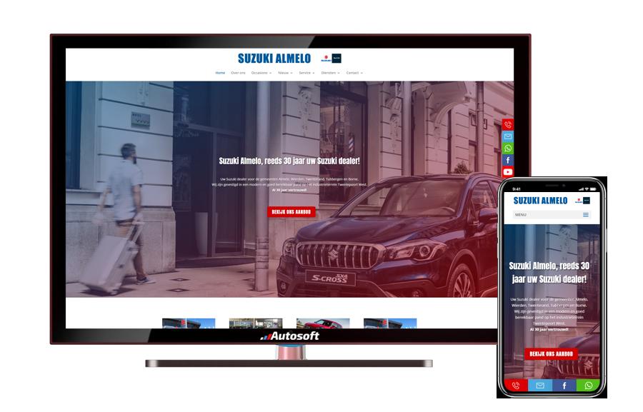 suzuki Almelo - AutoWebsite Maatwerk