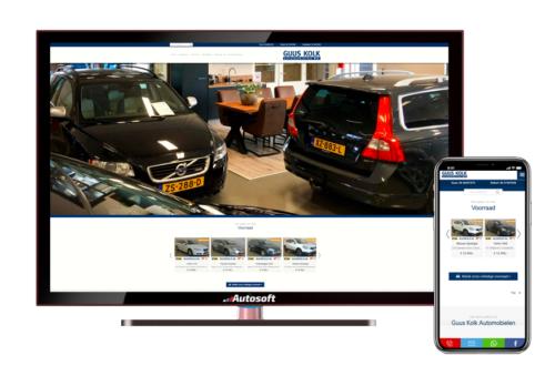 Nieuwe website Guus Kolk